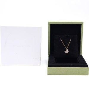 Yellow Gold 18k and Butterfly Alhambra Necklace